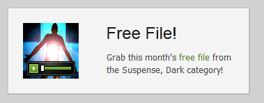 Audiojungle free file