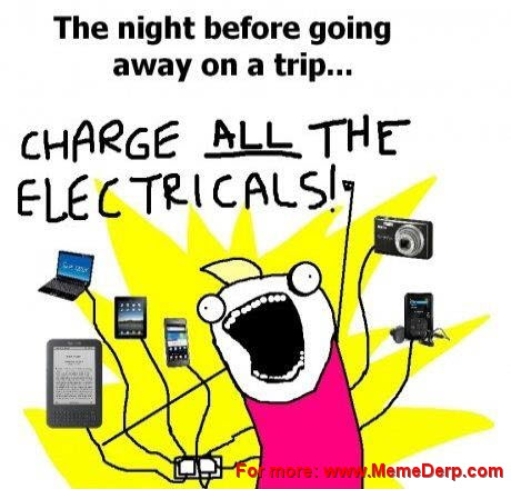 charge electricals meme