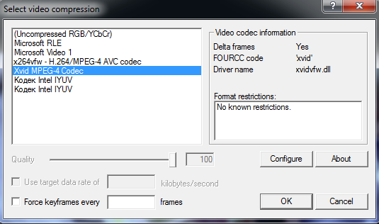 Virtualdub Video Compression