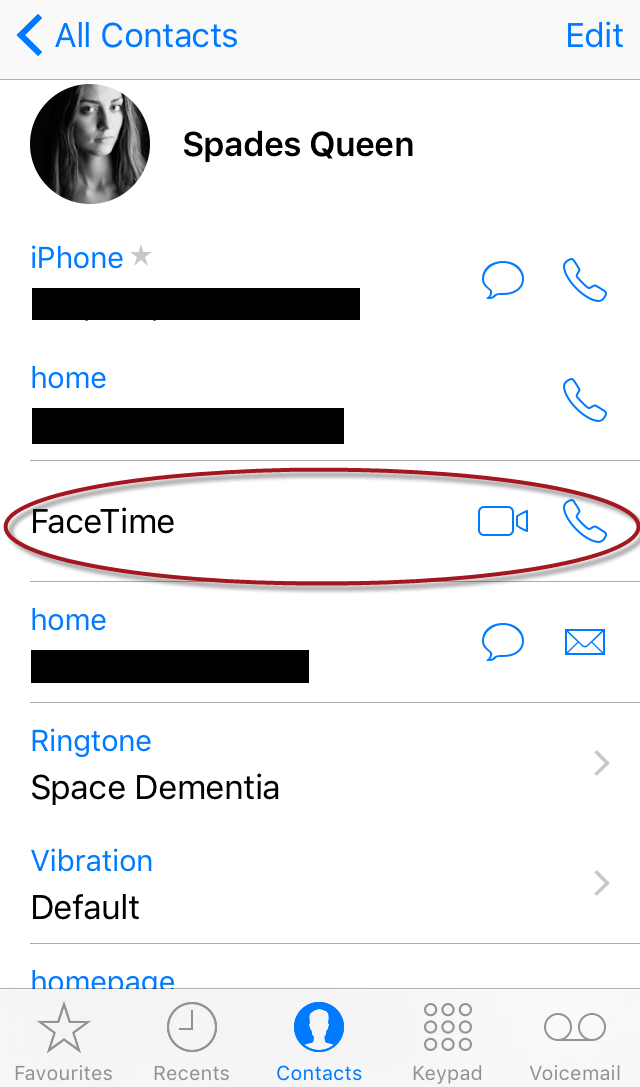 FaceTime Call
