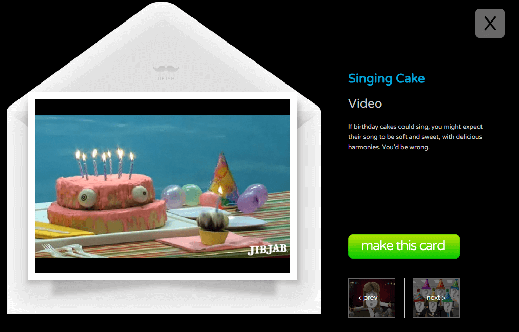 Jibjab free ecards videos featuring you freemake funny birthday ecards from jibjab m4hsunfo