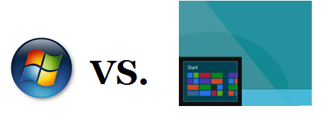Start button in Windows 8