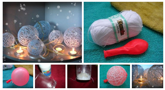Decorative string balls