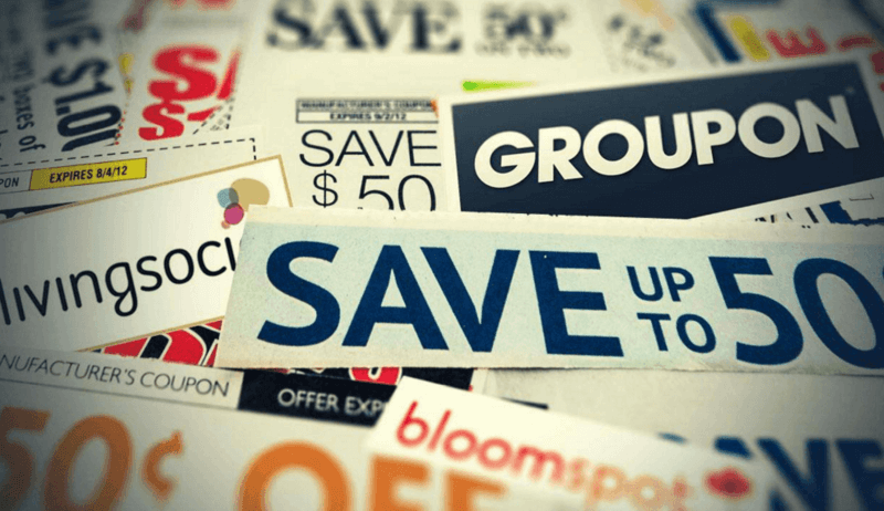 Using coupon websites is one of many good strategies to utilize