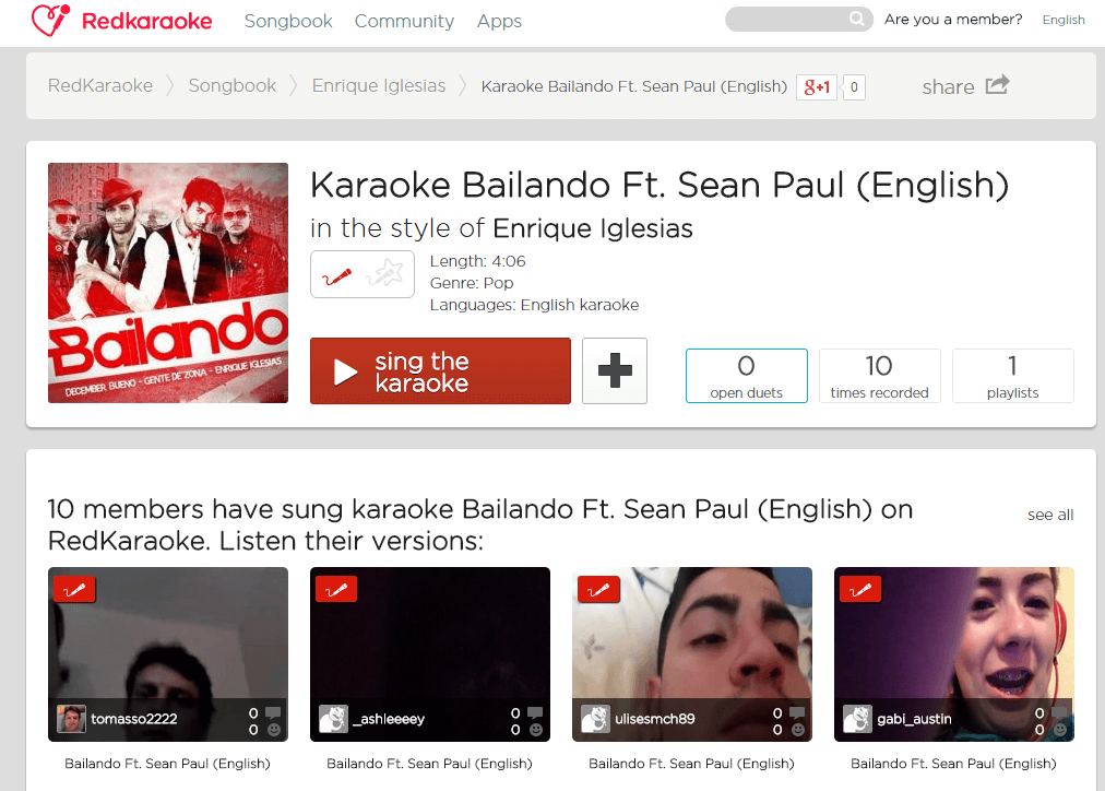 Karaoke Online: Download Free Karaoke Songs - Freemake