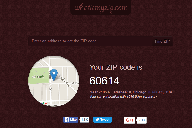 How To Find A Zip Code
