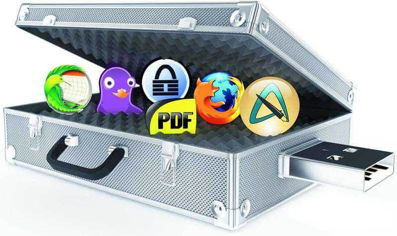 apps logos pendrive