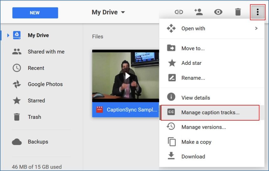 Google-Drive-captions