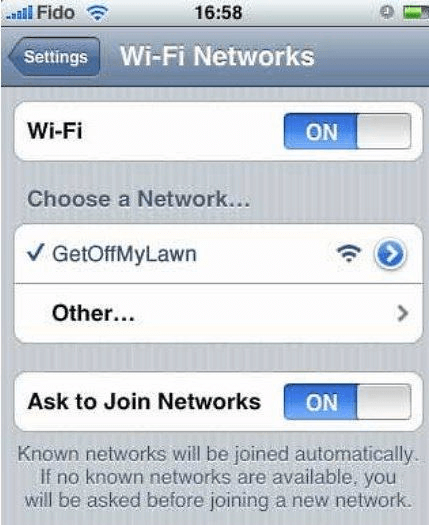 50 Funny Wi-Fi Names to Shock Your Neighbours - Freemake