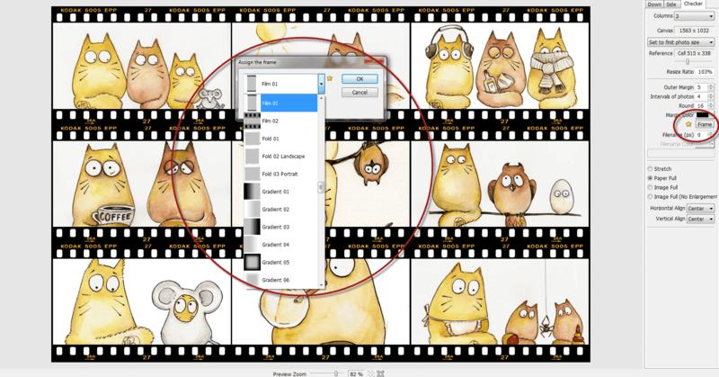 PhotoScape frame