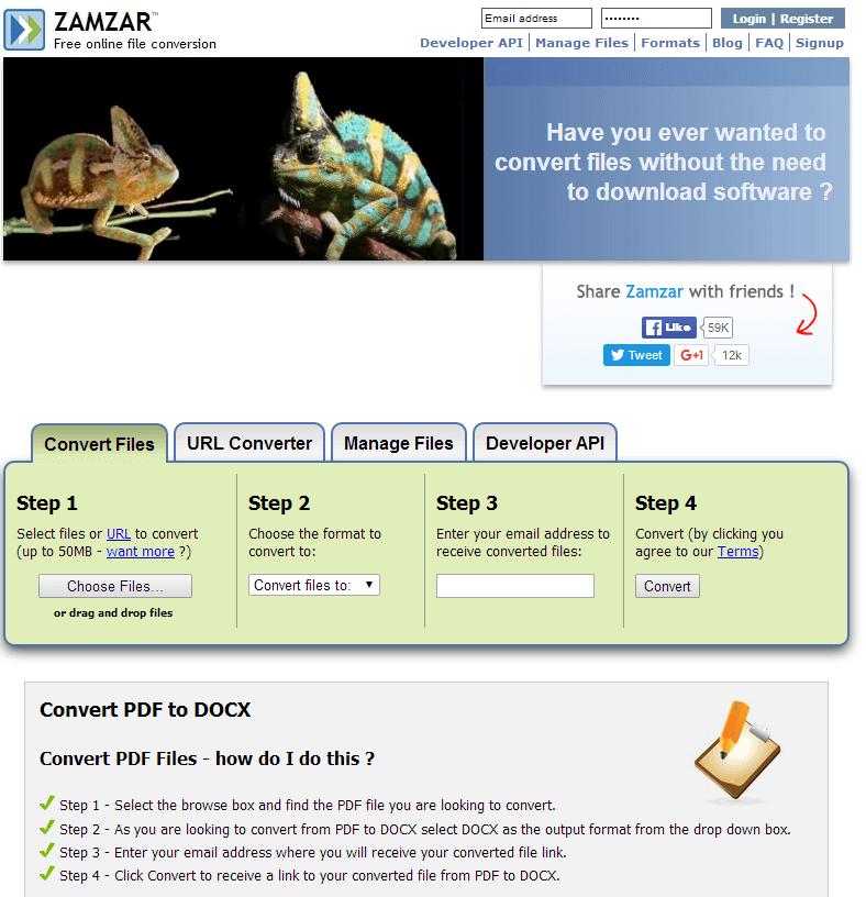 10 Best Free PDF Converters to Save PDF as DOCX - Freemake