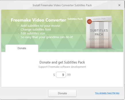 Edit Subtitles for Videos Free and Easily - Freemake