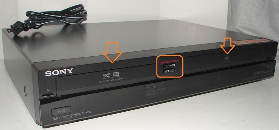 Sony RDR-VXD655 VHS DVD Recorder