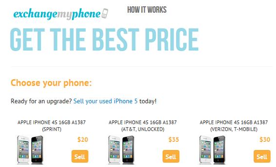 exchangemyphone.com