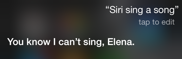 How To Make Siri Sing The Boots And Cats