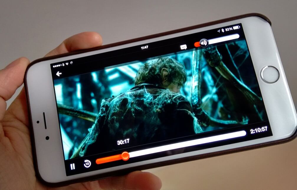 the hobbit movie on iphone