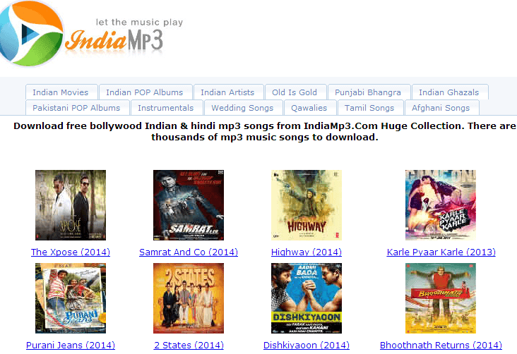 free bollywood songs download