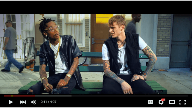 Machine Gun Kelly Mind of a Stoner ft. Wiz Khalifa