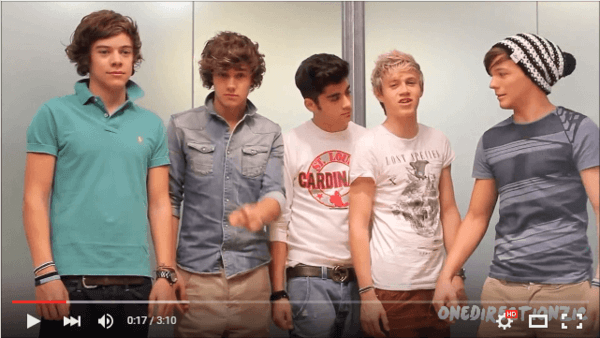 One Direction Happily