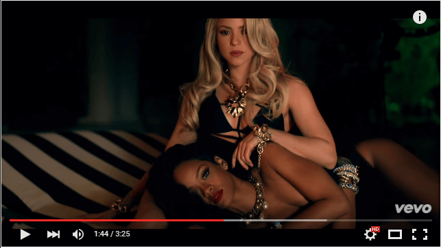 Shakira Can't Remember to Forget You ft. Rihanna