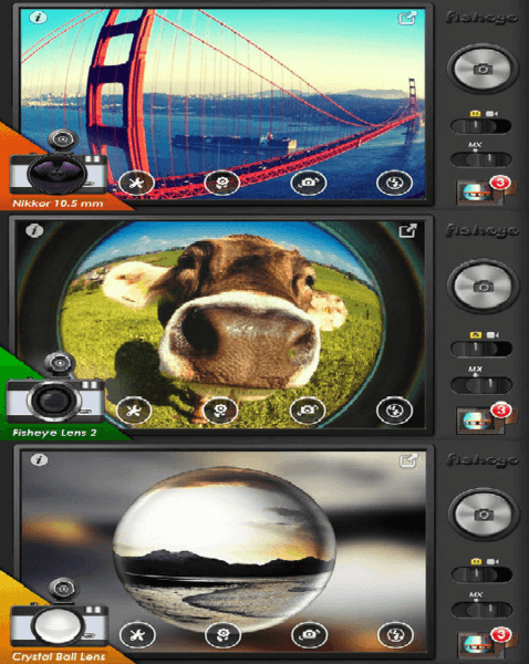 9 fish eye apps to turn iphone camera into lens freemake