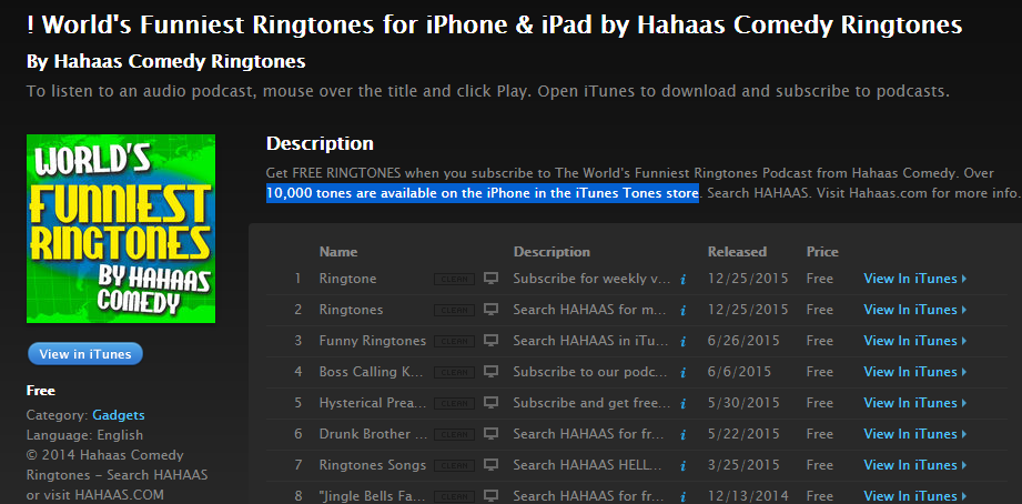 Funny Ringtones - Free iPhone Ringtone Downloads - Freemake