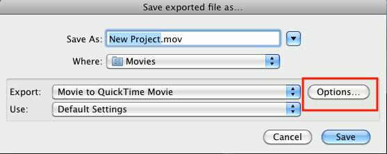 imovie reduce video size