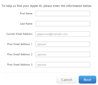 How to reset Apple ID