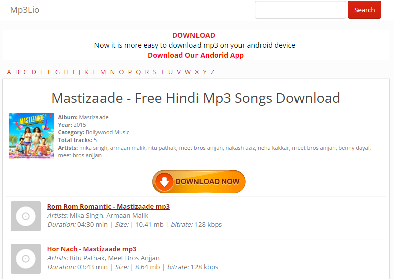 Hindi Songs Download - Best Free Hindi MP3 Sites - Freemake