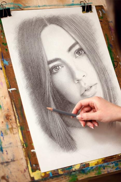 PhotoFunia drawing