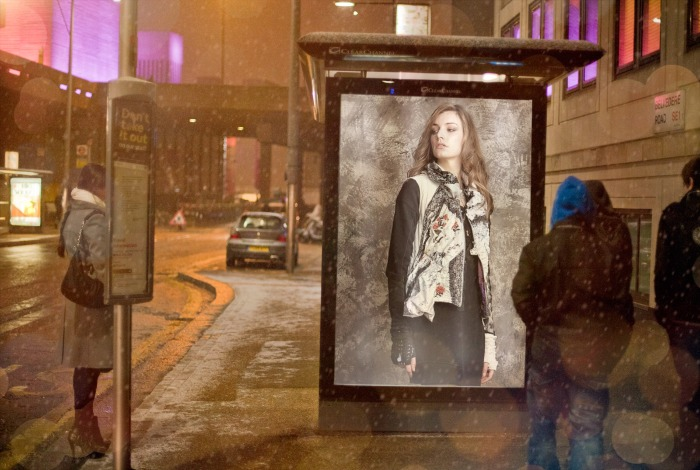 PhotoFunia snow in London
