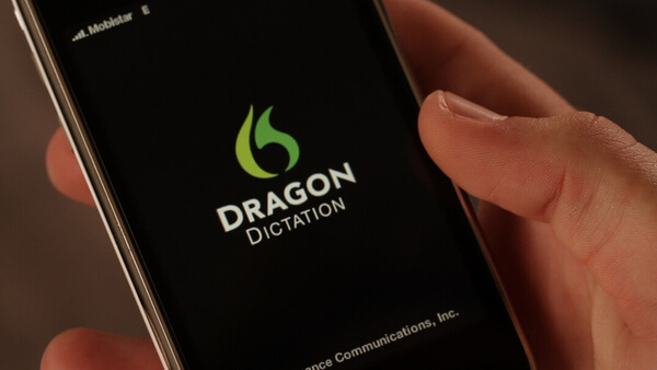 dragon dictation on android