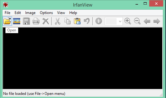 Irfanview open photos