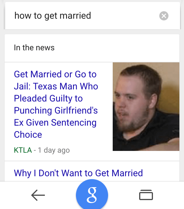 ok google how to get married