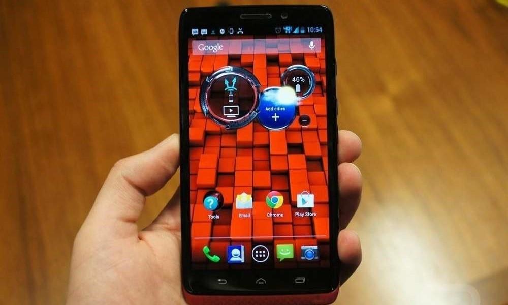 android phone main window