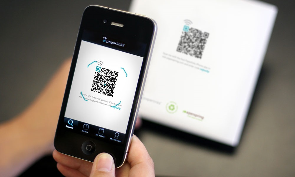 qr scanner app on iphone