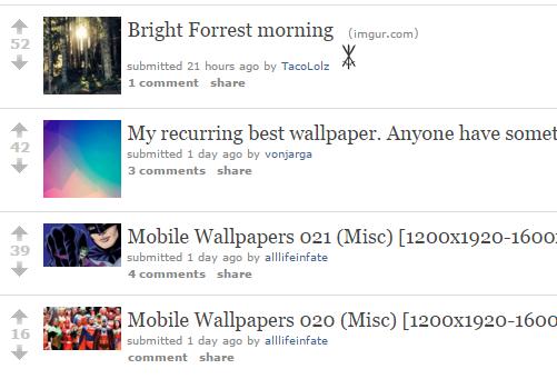 Reddit iWallpaper