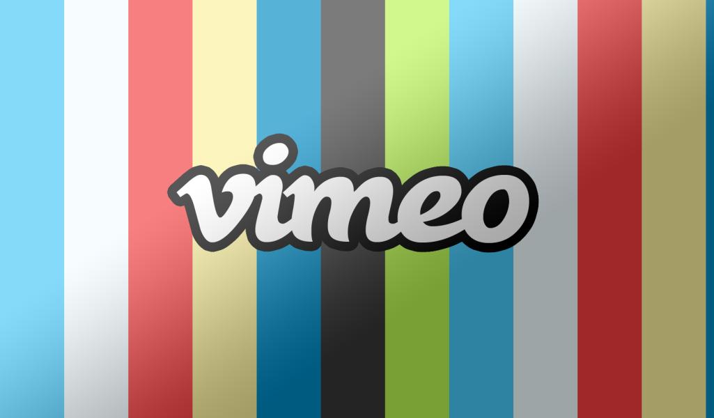 vimeo rainbow logo