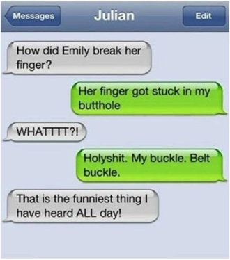 finger autocorrect fail