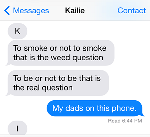 to smoke or not to smoke autocorrect