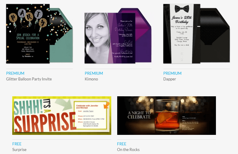 5 online invitation makers to create invites free freemake evite templates stopboris Image collections