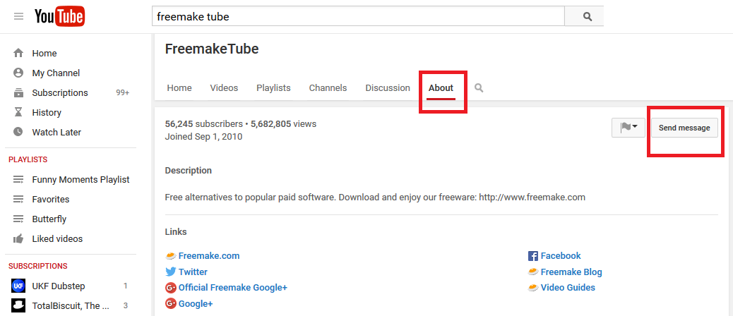 How to delete any video from youtube freemake youtube send message option ccuart Choice Image