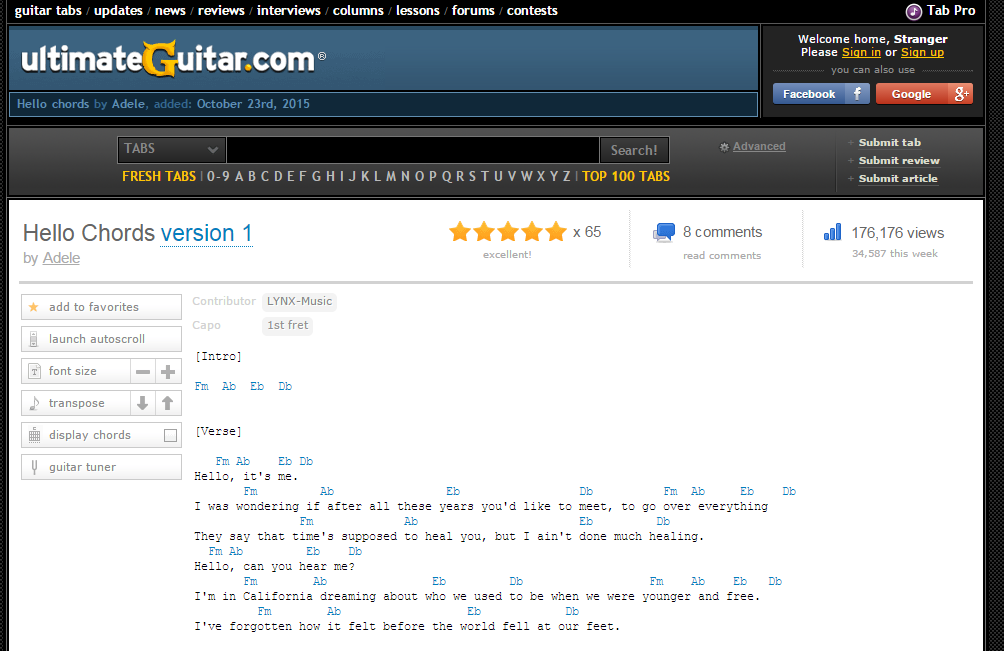 8 Sites With Free Sheet Music Guitar Chords Freemake