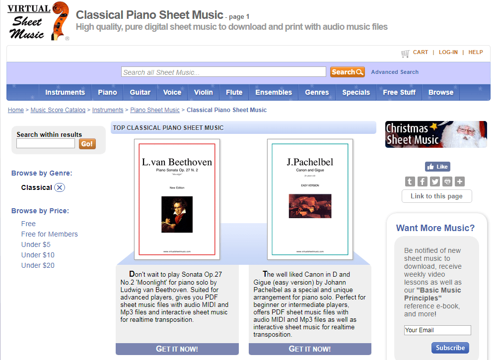 All Music Chords online sheet music download : 8 Sites with Free Sheet Music & Guitar Chords - Freemake