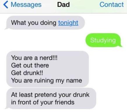 pretend you are drunk
