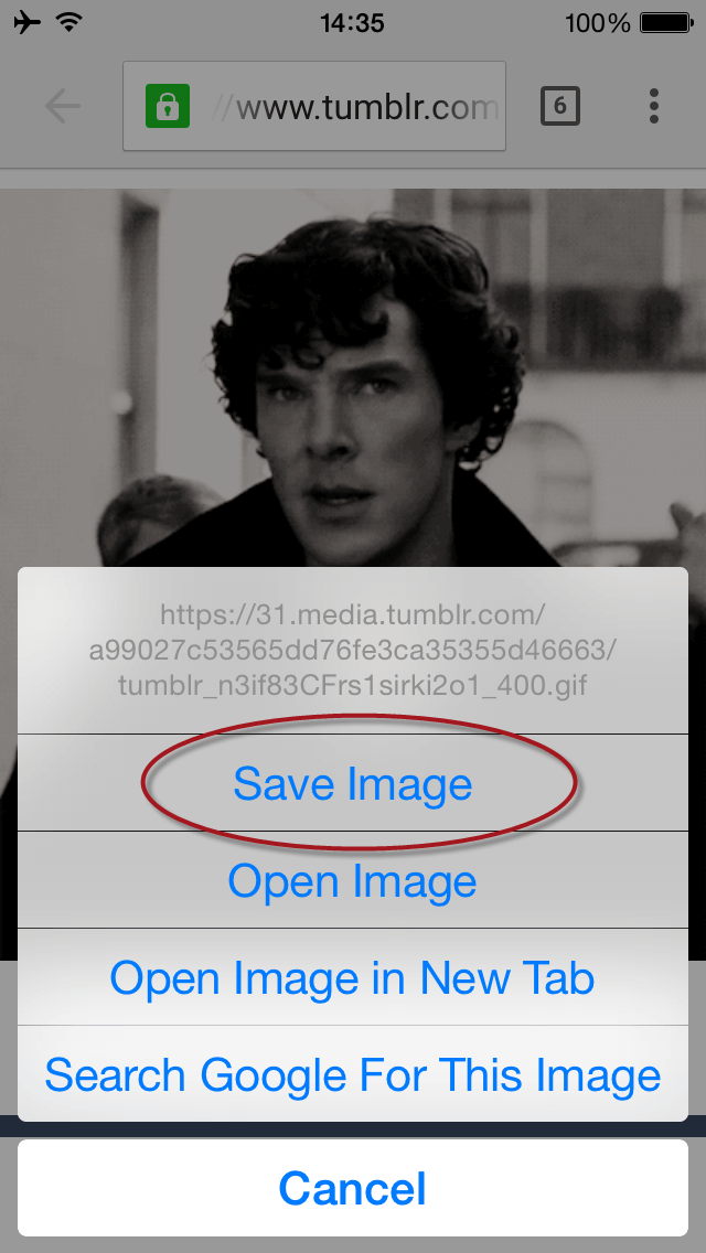 save GIF image how to save gif on iphone 3 simplest ways freemake