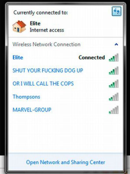 wifi network dogs