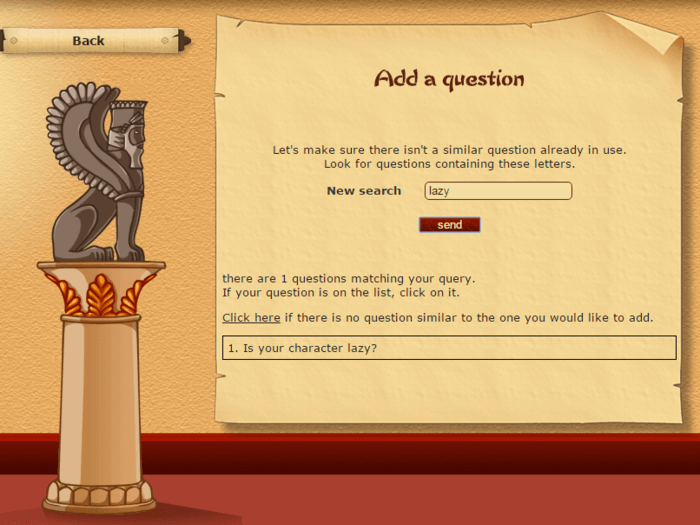 Akinator add a question