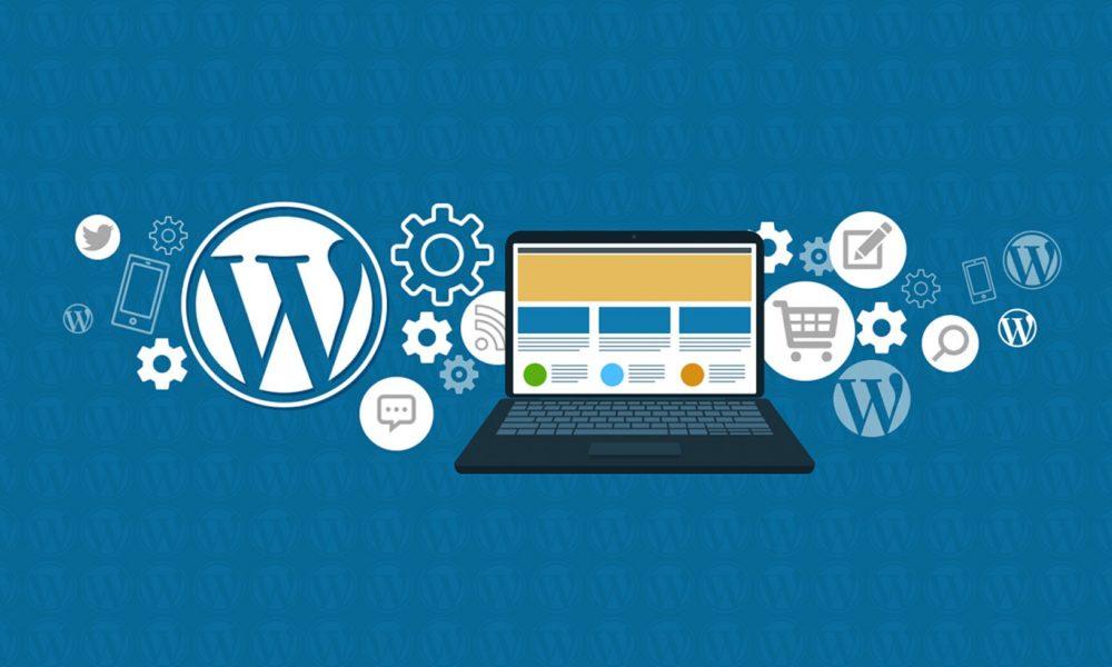 wordpress laptop logo