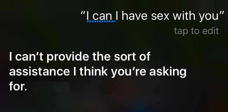 siri sex